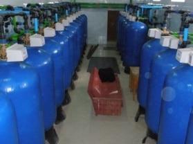 Станции очистки воды крупного населенного пункта