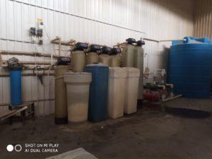Станция очистки воды кондитерской фабрики